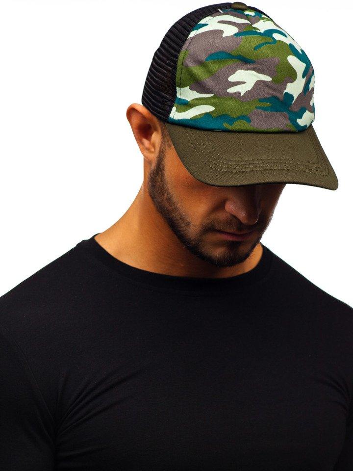 Șapcă cu cozoroc multicolor Bolf CZ33F imagine