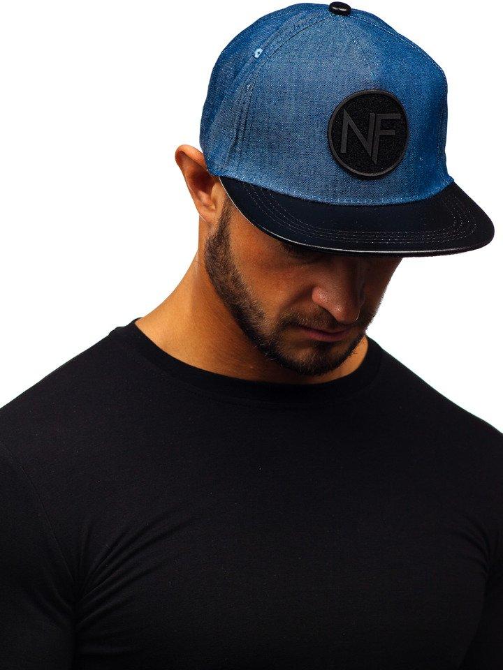 Șapcă cu cozoroc bărbați bleumarin Bolf CZ16 imagine