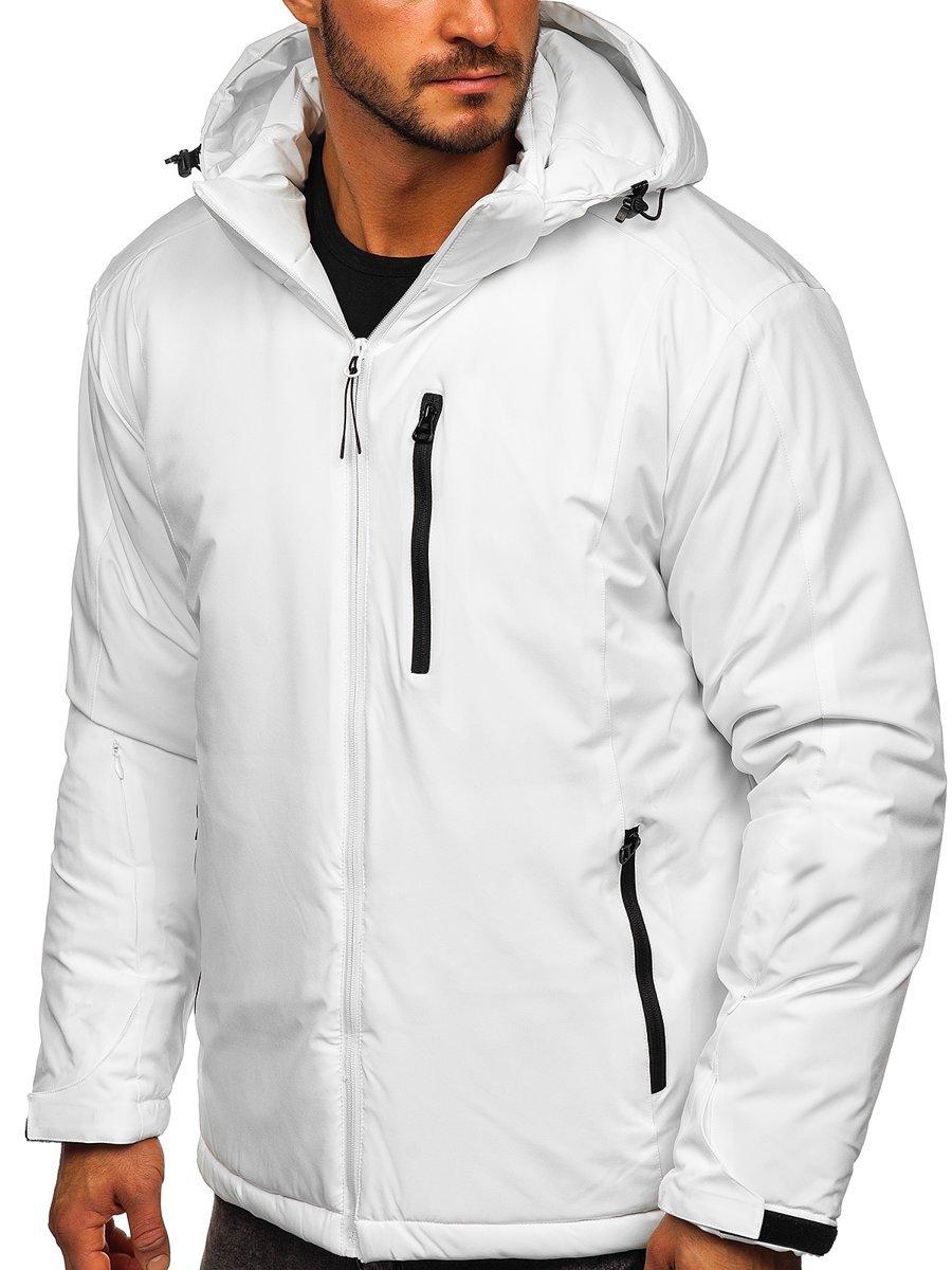 Geacă ski sport bărbați albă Bolf HH011
