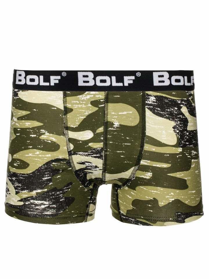 Boxeri bărbați verzi Bolf 0953-4