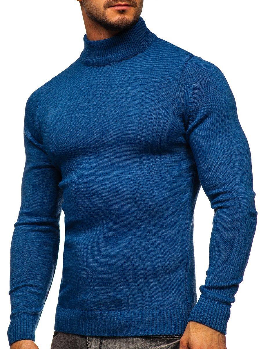 Pulover maletă albastru Bolf 4600 imagine