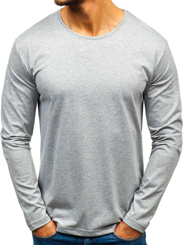 Bluza bărbați gri Bolf 172007 imagine