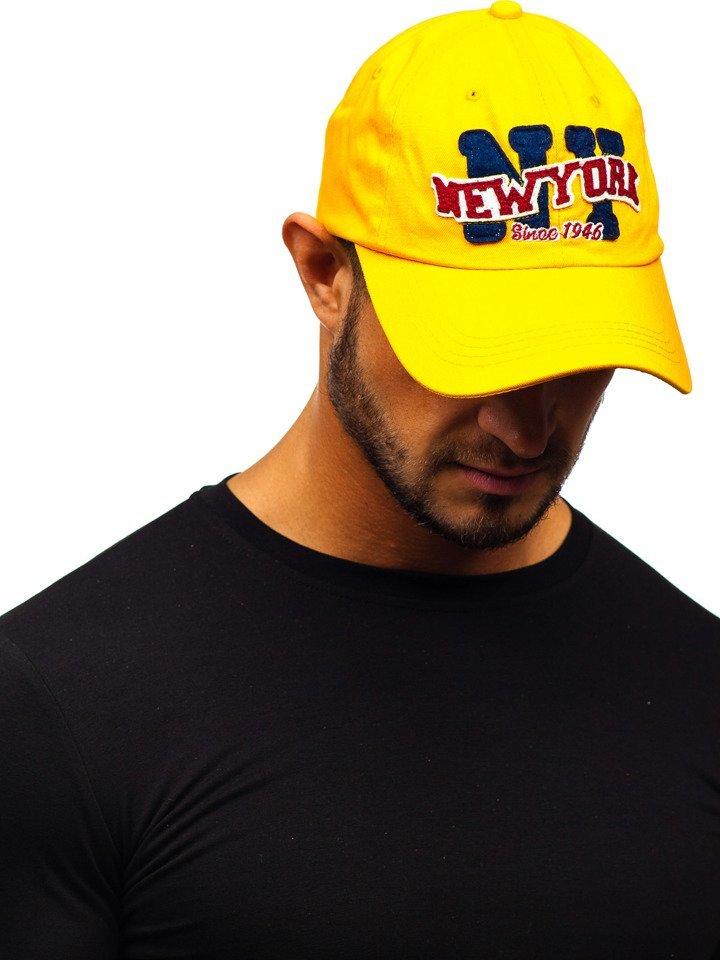 Șapcă cu cozoroc galben Bolf CZ17 imagine