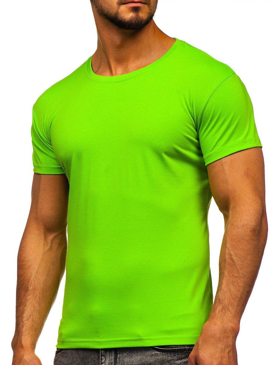 Tricou bărbați verde-deschis Bolf 2005 imagine