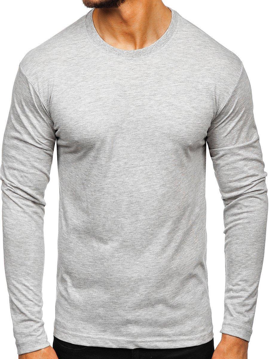 Bluză bărbați gri Bolf 1209 imagine