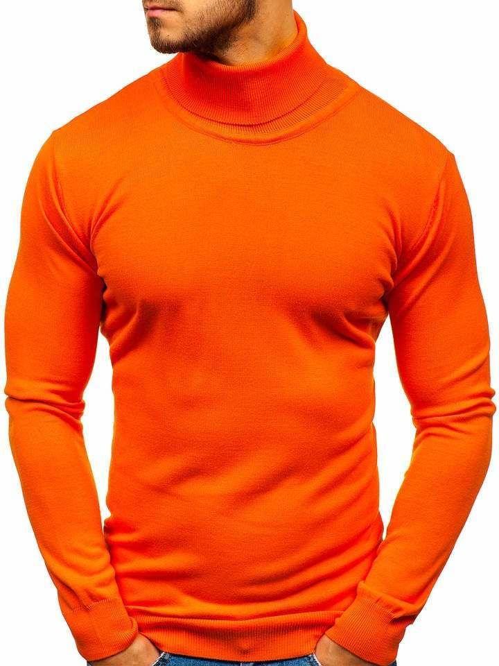 Helanca bărbați portocaliu Bolf 2400 imagine