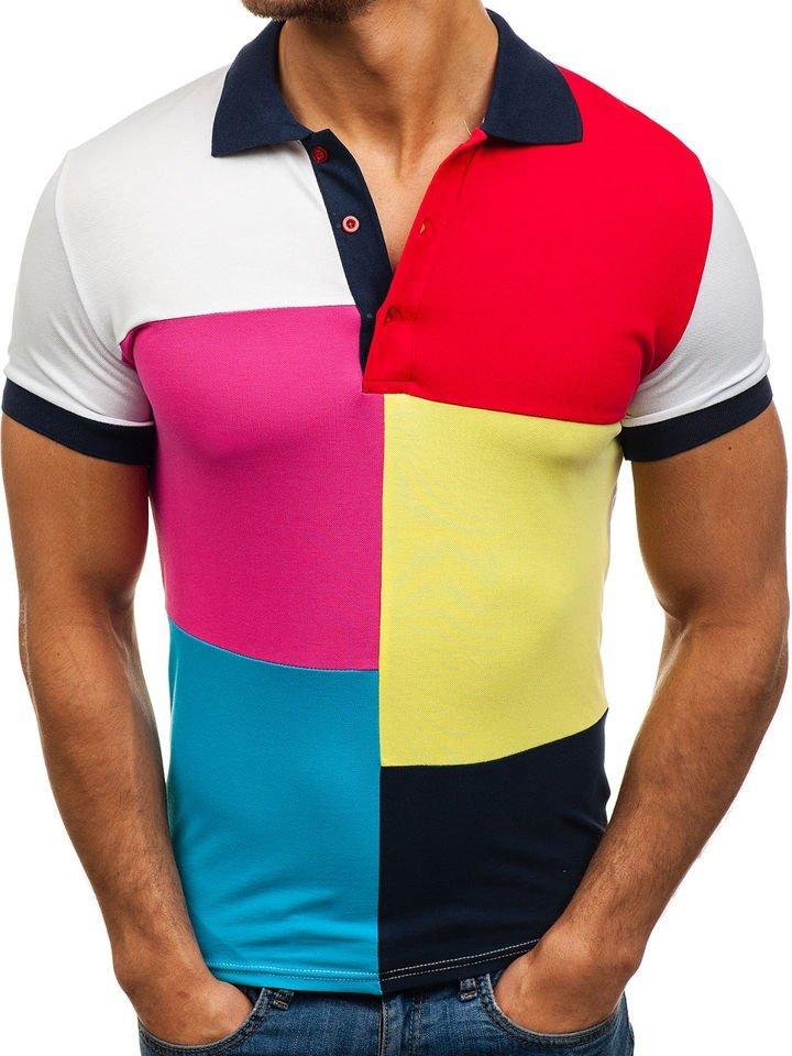 Tricou polo pentru bărbat bluemarin Bolf 4037 imagine