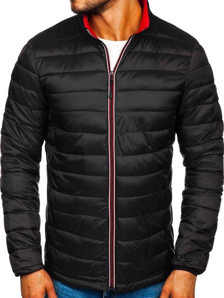 Geacă de iarnă sport neagră Bolf LY1017