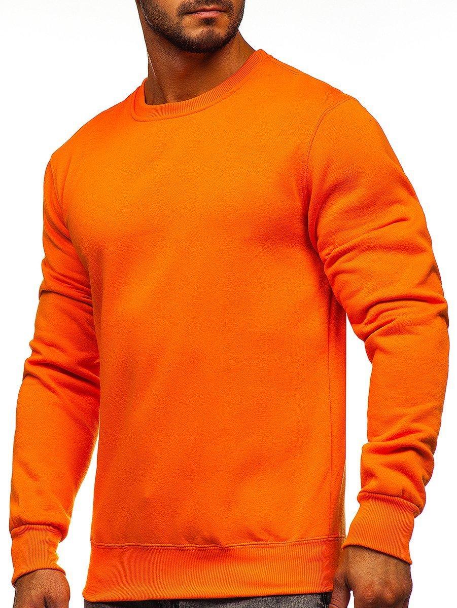 Bluză bărbați portocaliu Bolf 2001 imagine