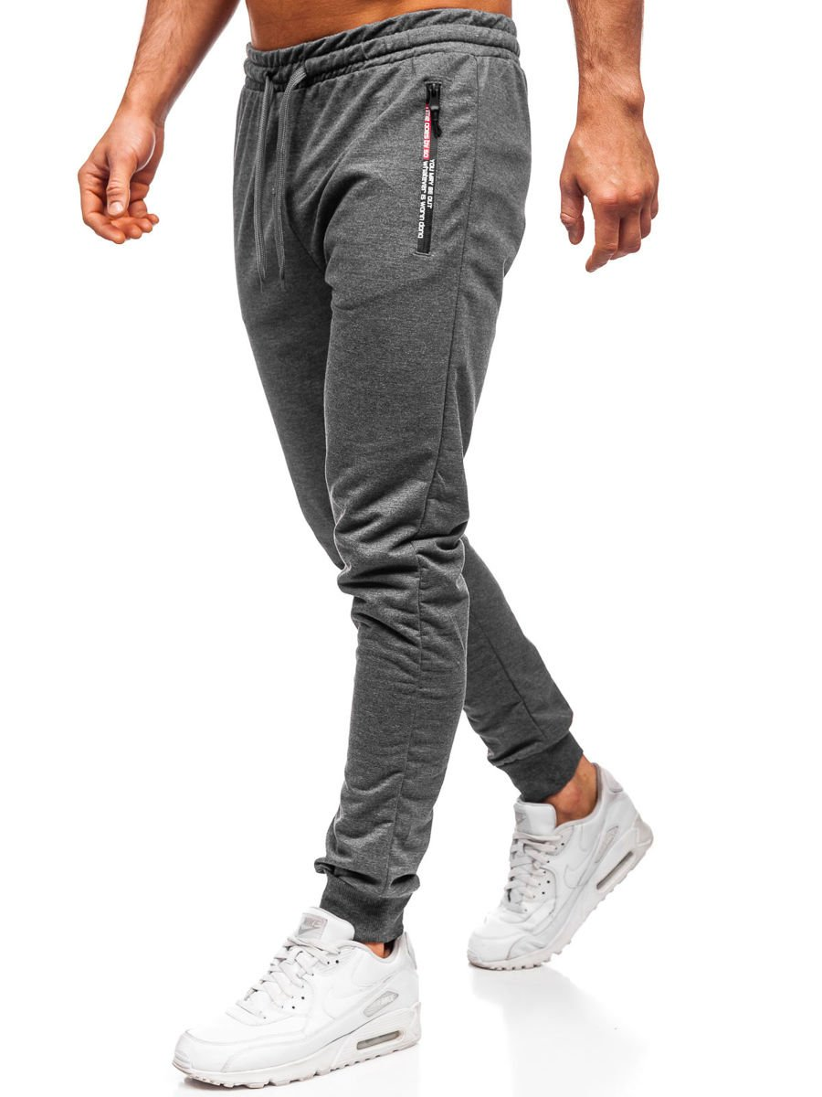 Pantaloni de trening bărbați gri Bolf XW02 imagine