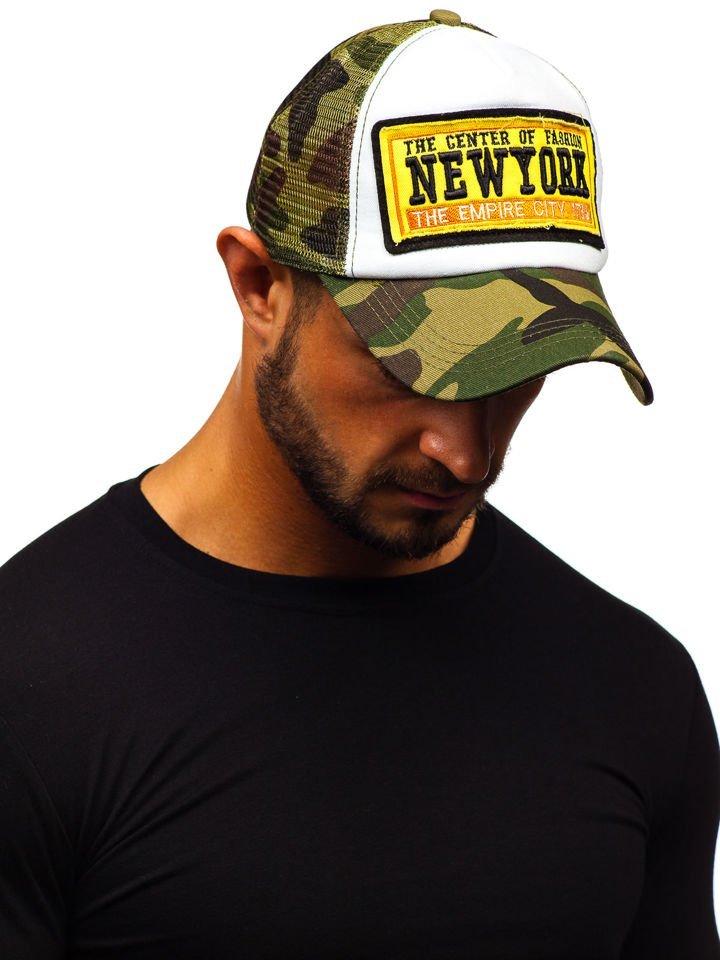 Șapcă cu cozoroc verde Bolf CZ2