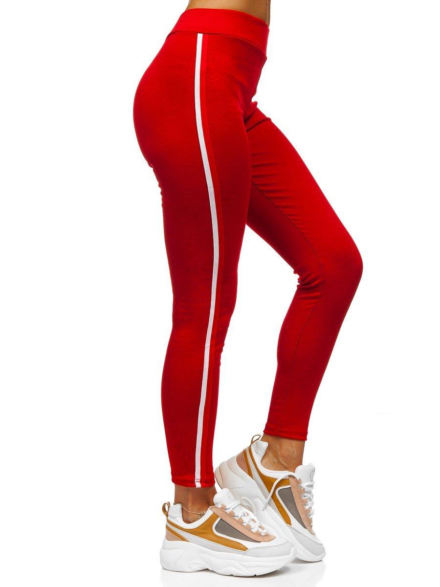 Colanți roșii dame Bolf YW01036-A