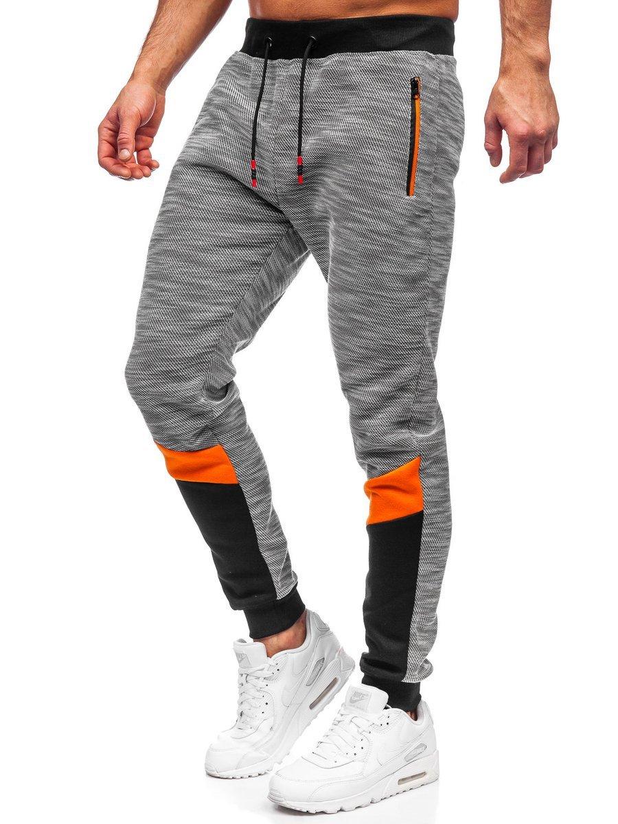 Pantaloni de trening gri Bolf K60019