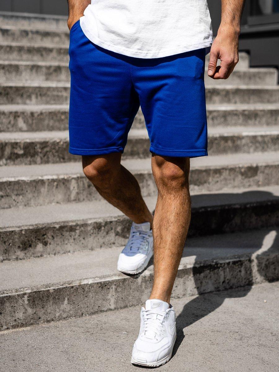 Pantaloni scurți bărbați albastru Bolf B1002 imagine