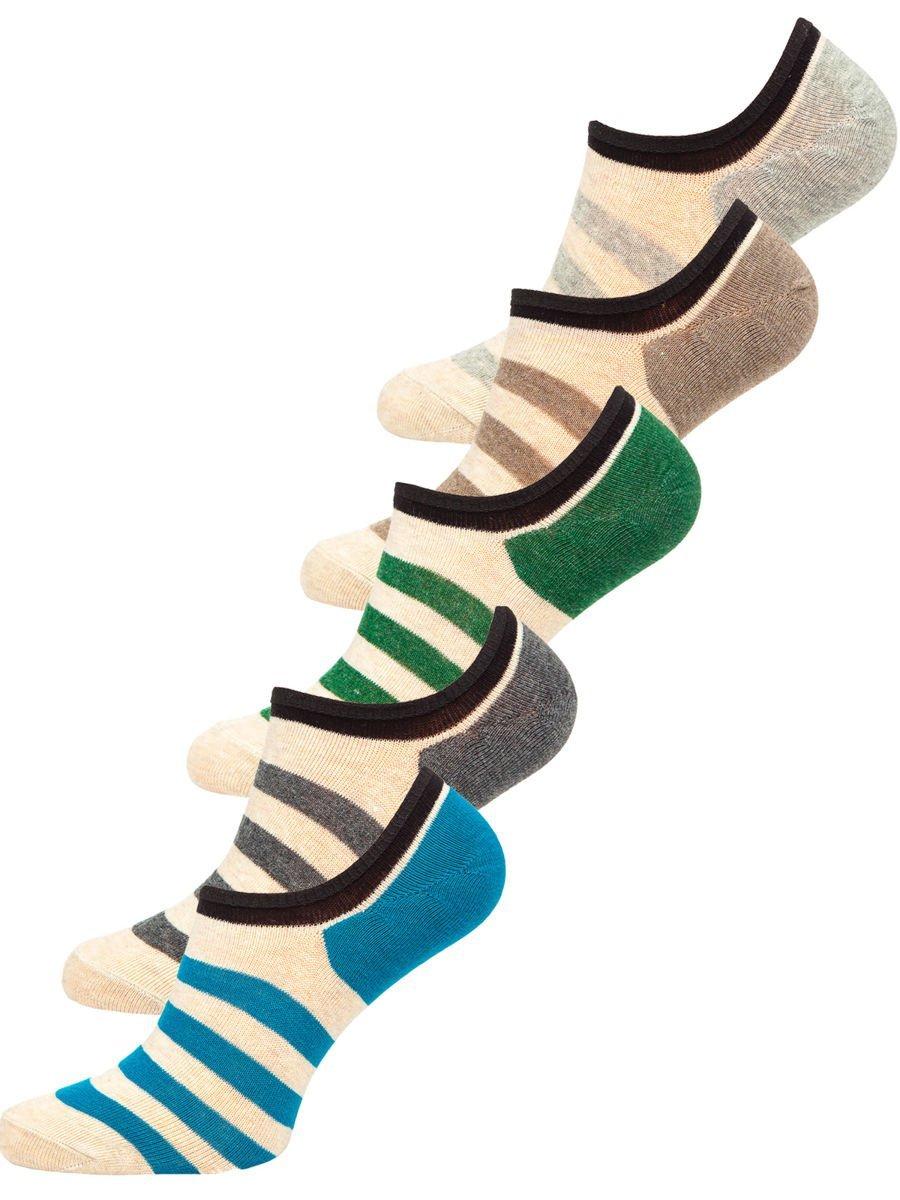 Șosete multicolor bărbați Bolf X10169-5P 5 PACK
