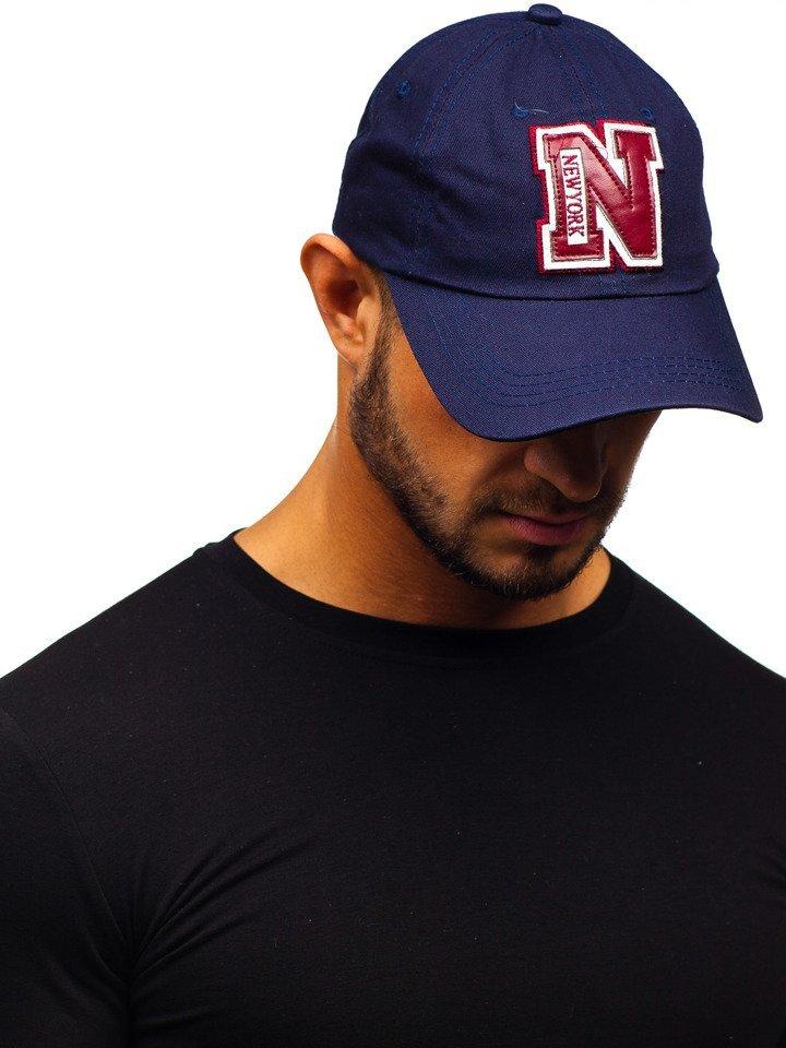 Șapcă cu cozoroc bleumarin Bolf CZ19 imagine