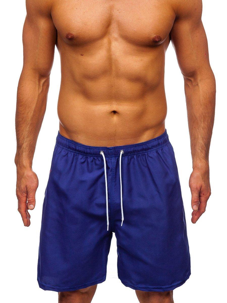 Pantaloni scurți de baie albastru Bolf ST003 imagine