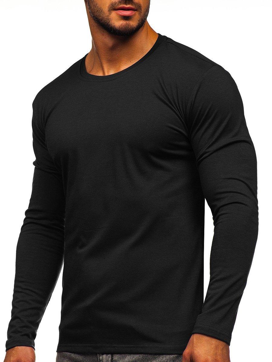 Bluză bărbați neagră Bolf 2088L imagine
