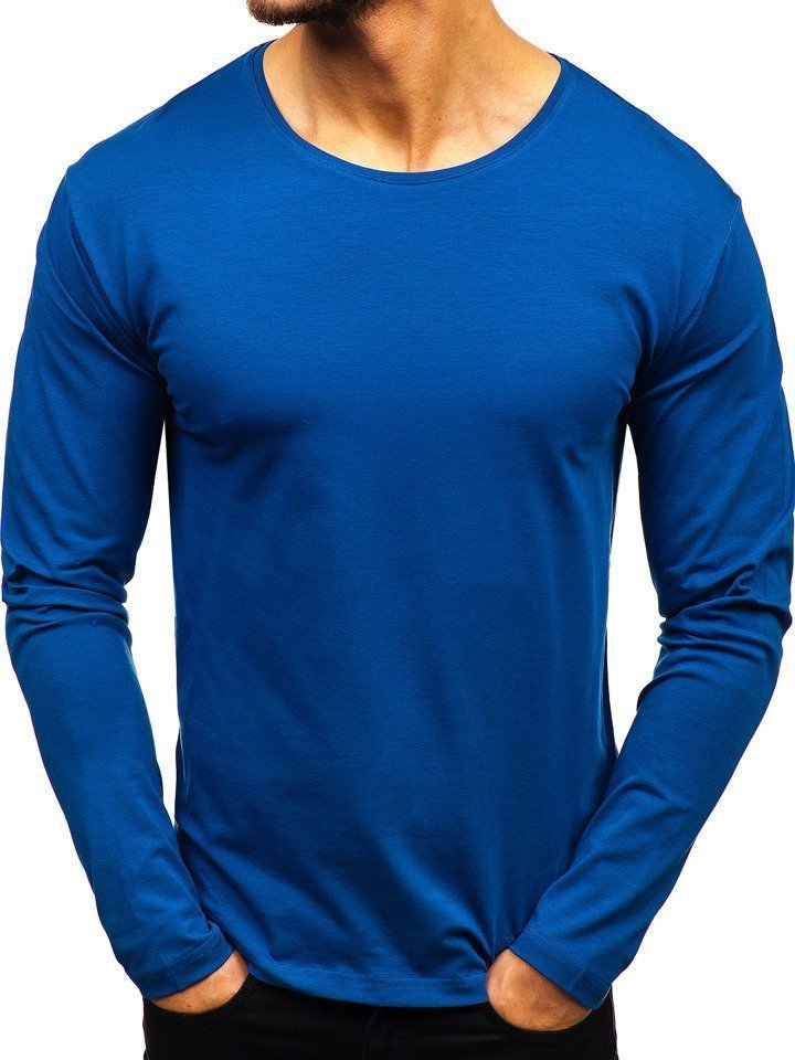 Bluza bărbați indigo Bolf 172007 imagine