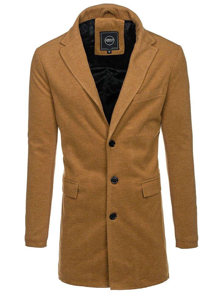 Palton de iarnă bărbați camel Bolf 1047B