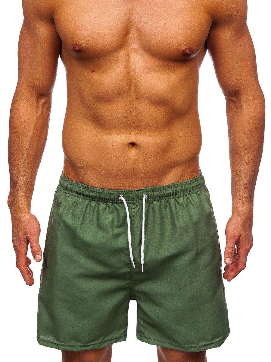 Pantaloni scurți de baie verzi Bolf ST001 imagine
