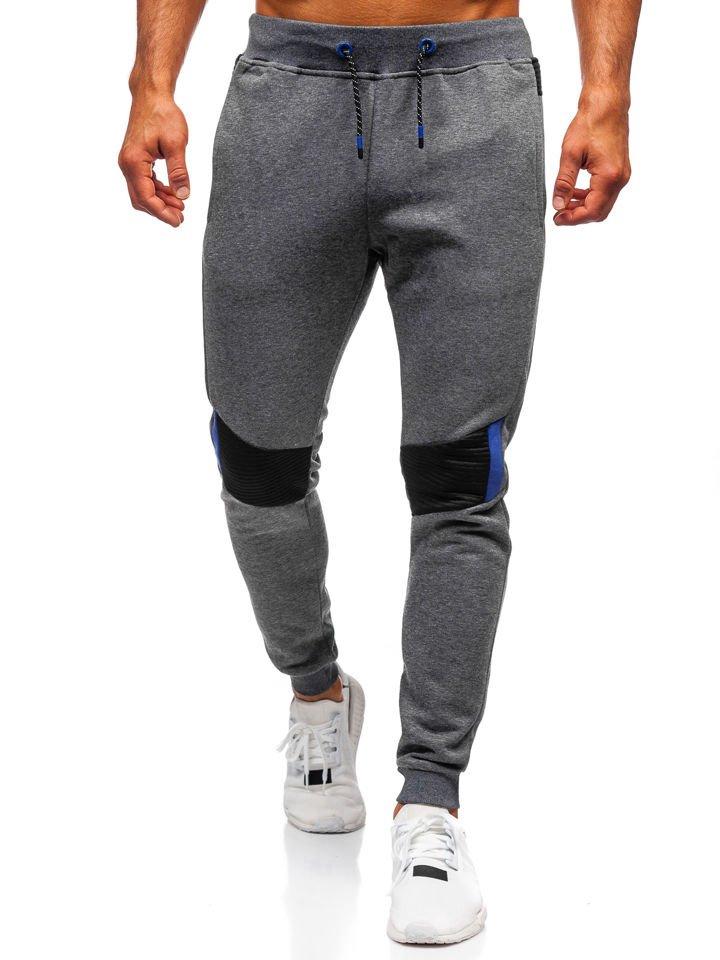 Pantaloni de trening bărbați grafit Bolf AM57 imagine