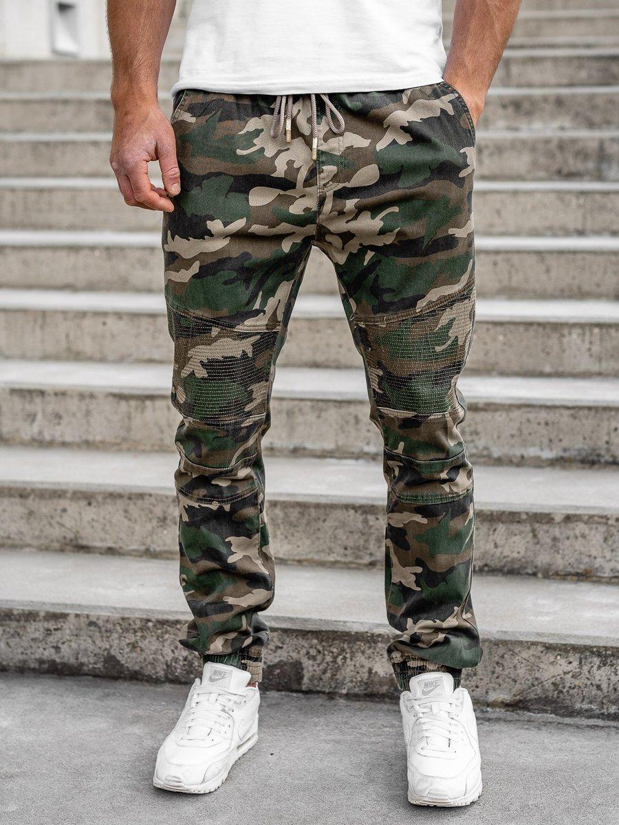 Pantaloni army joggers kaki bărbați Bolf RB8213XT imagine