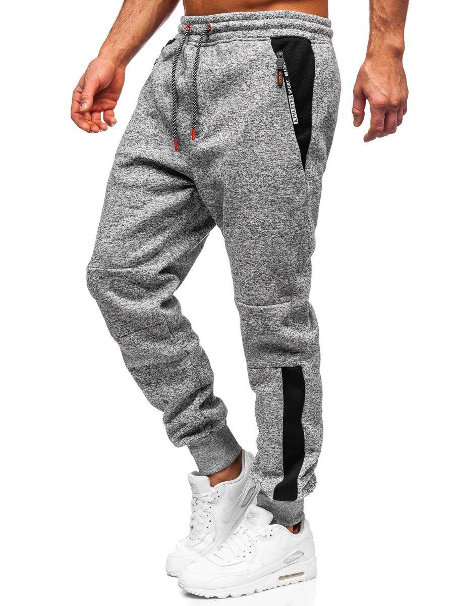 Pantaloni de trening gri Bolf Q1092 imagine