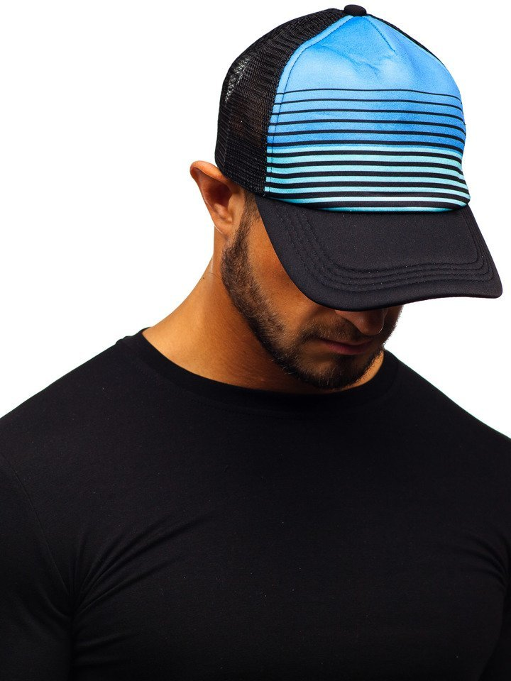 Șapcă cu cozoroc negru Bolf CZ39-13 imagine