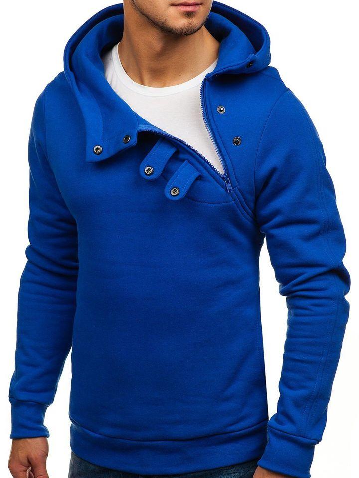 Hanorac bărbați albastru-cobalt Bolf 06