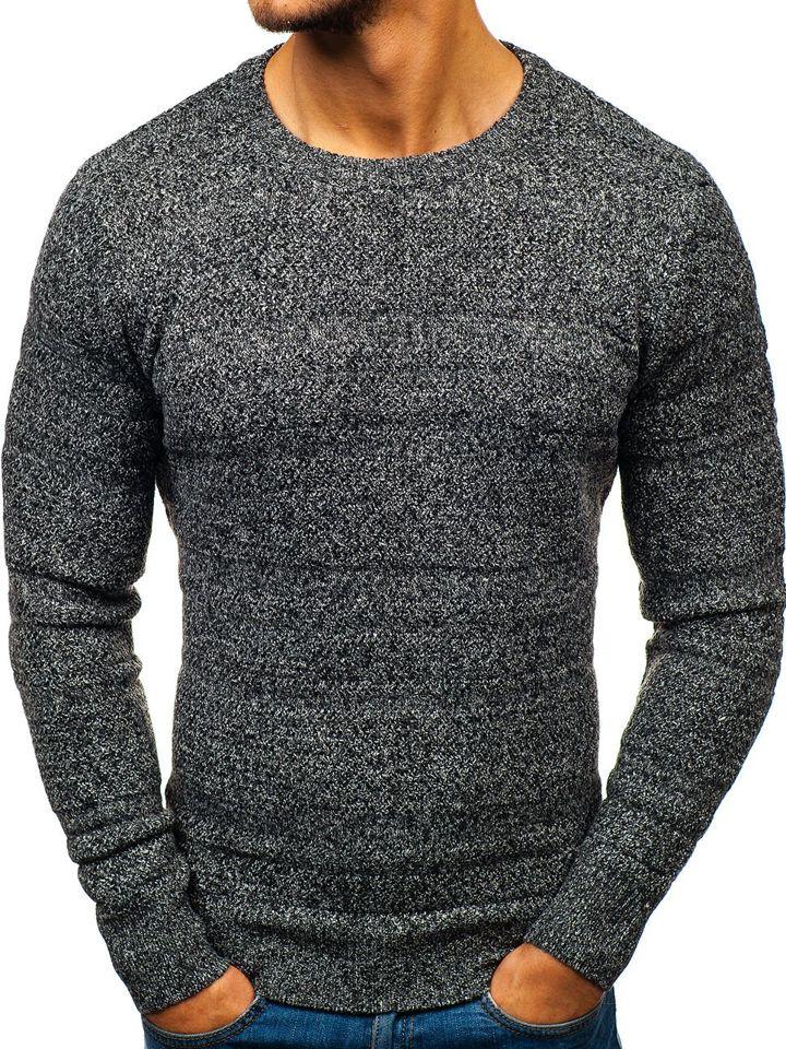 Pulover pentru bărbat gri Bolf H1805 imagine