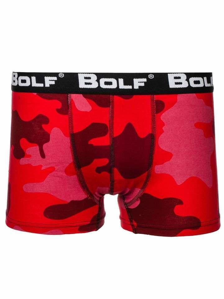 Boxeri bărbați camuflaj-roșu Bolf 0953-2 imagine