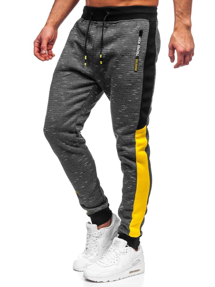 Pantaloni de trening grafit Bolf K60009 imagine