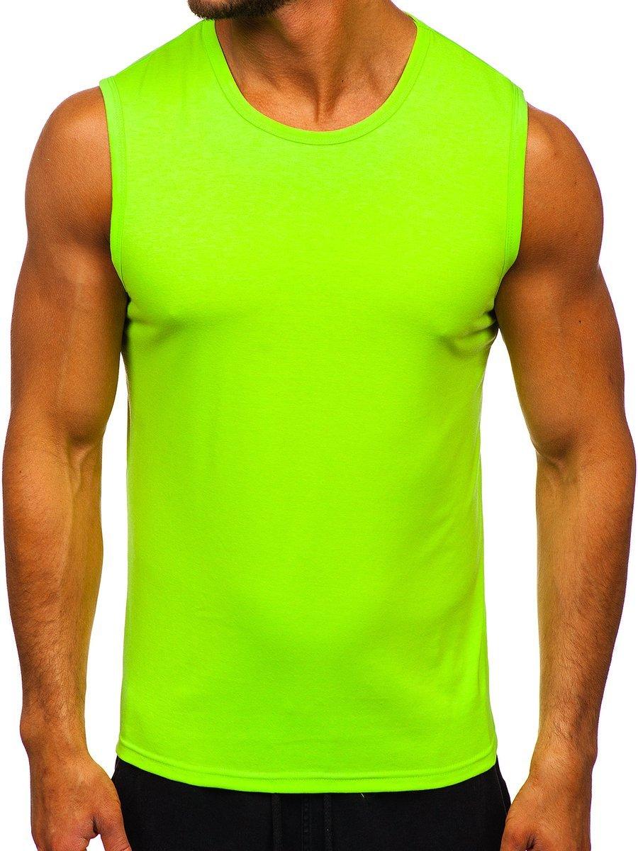 Maiou verde-neon bărbați Bolf 99001