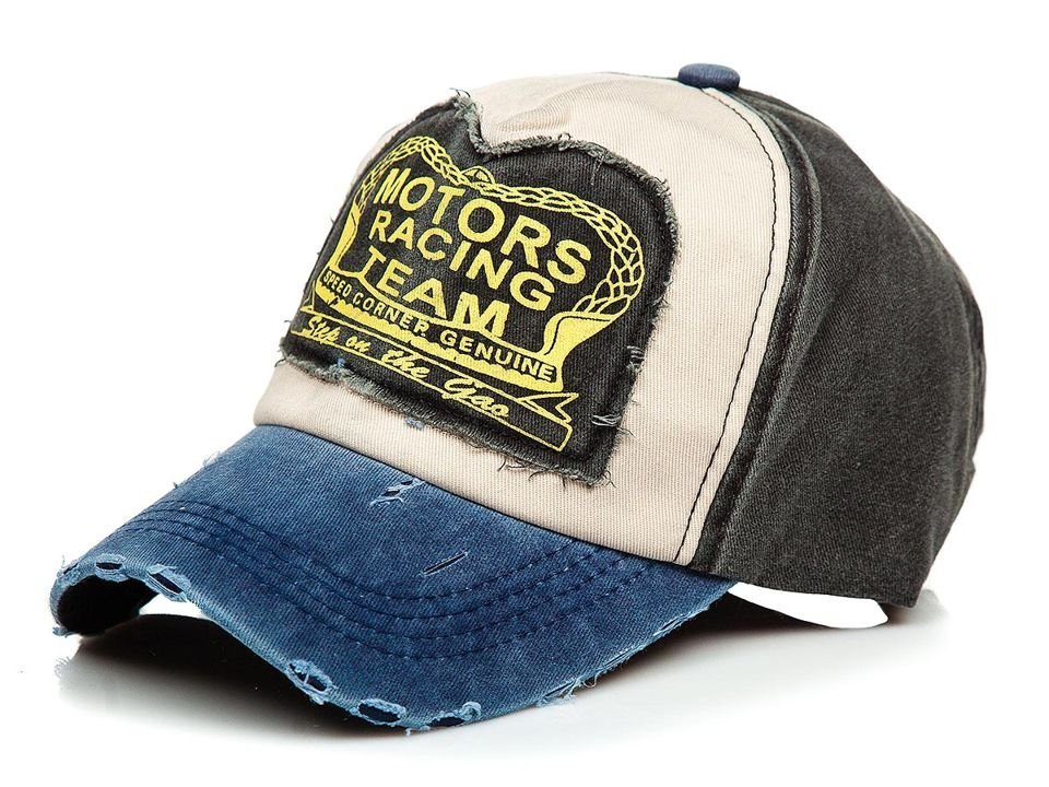 Șapcă cu cozoroc bleumarin-negru Bolf CZ46