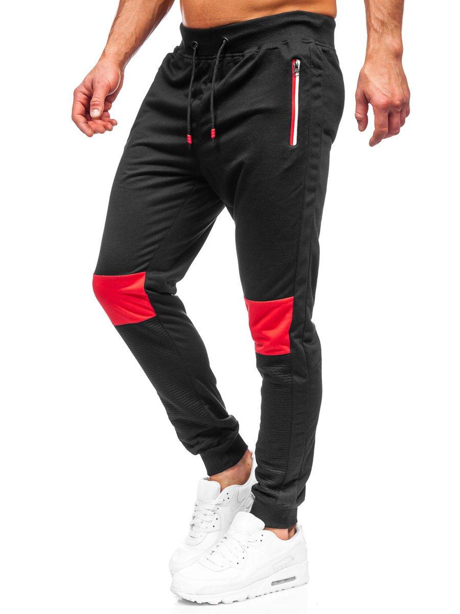Pantaloni de trening negri Bolf K10222