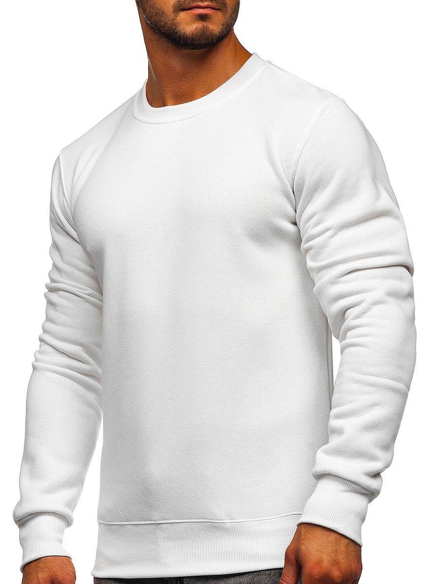 Bluză bărbați albă Bolf 2001