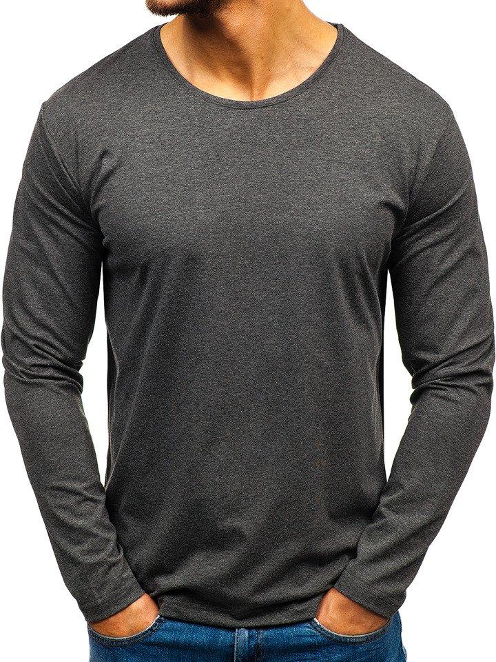 Bluza bărbați gri-antracit Bolf 172007