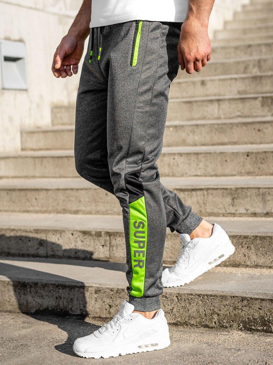 Pantaloni de trening grafit Bolf K50007 imagine