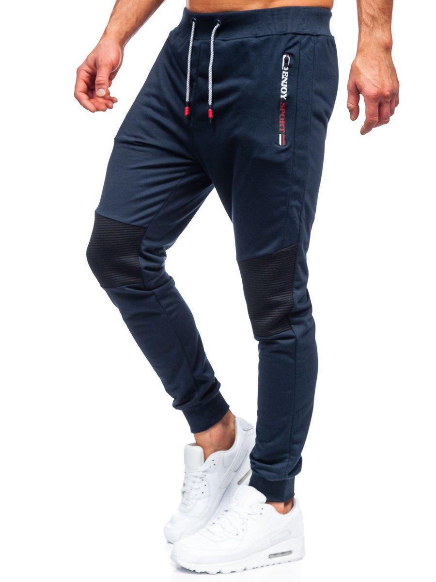 Pantaloni de trening bleumarin Bolf K10216