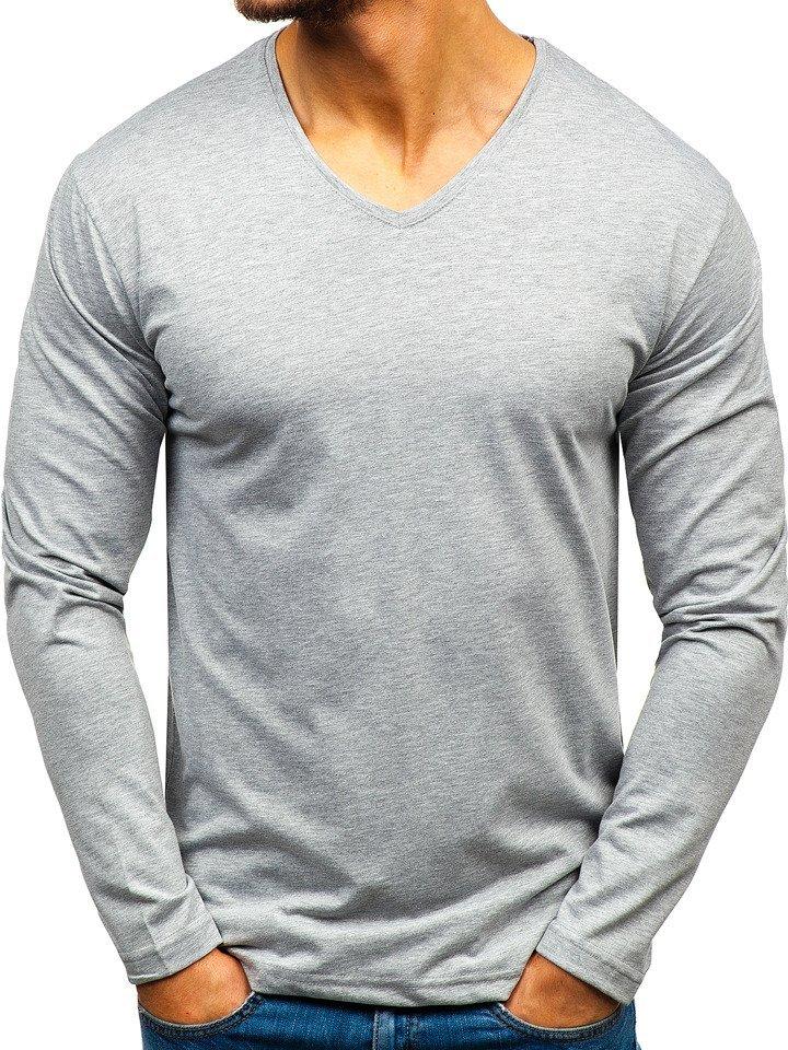 Bluză bărbați gri Bolf 172008 imagine