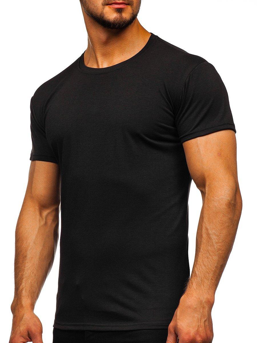Tricou bărbați negru Bolf 2005 imagine