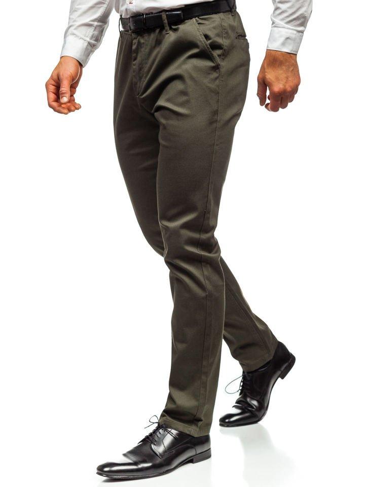Pantaloni chino bărbați kaki Bolf KA968 imagine