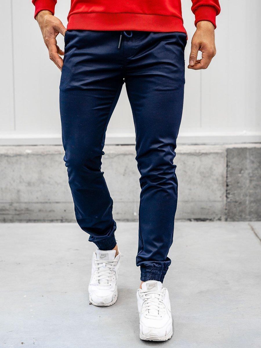 Pantaloni joggers bleumarin Bolf KA1005