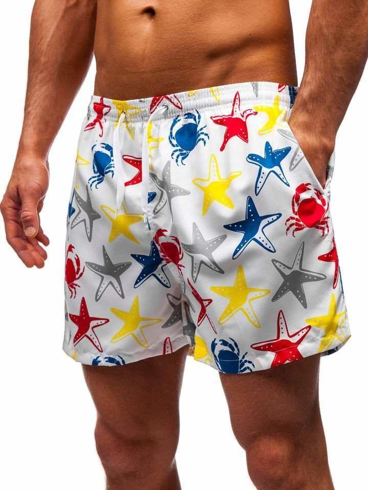 Pantaloni scurți de baie bărbați multicolor Bolf Y760A