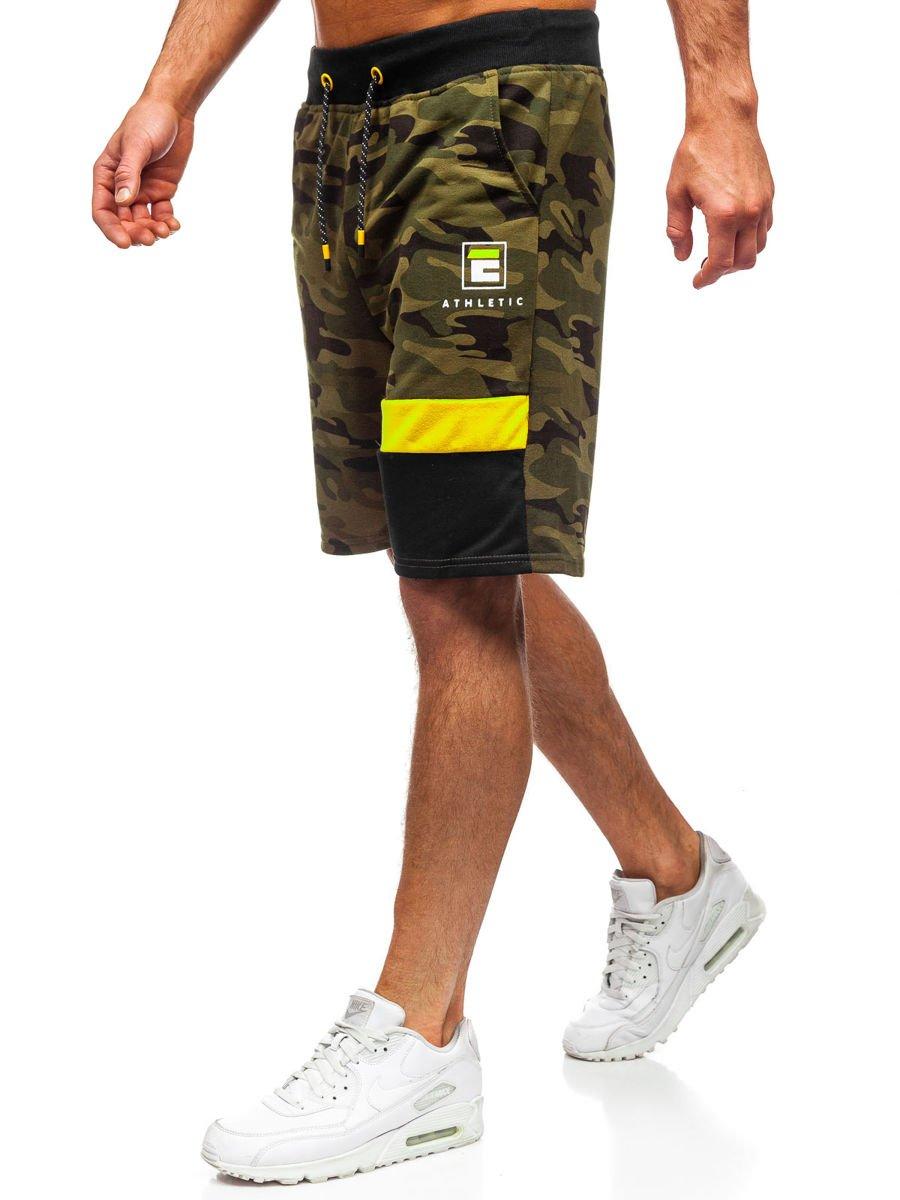 Pantaloni scurți de trening kaki Bolf KK300160 imagine